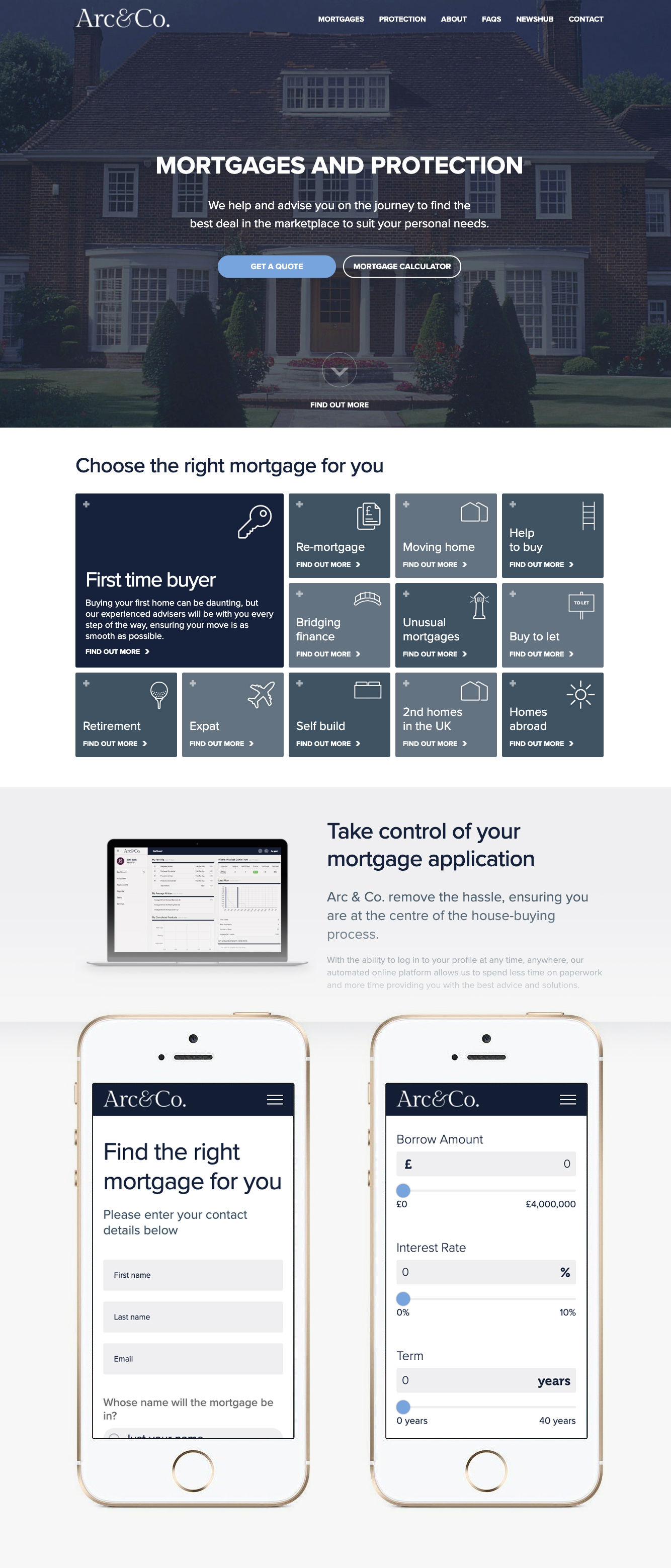 Arc & Co. Mortgages